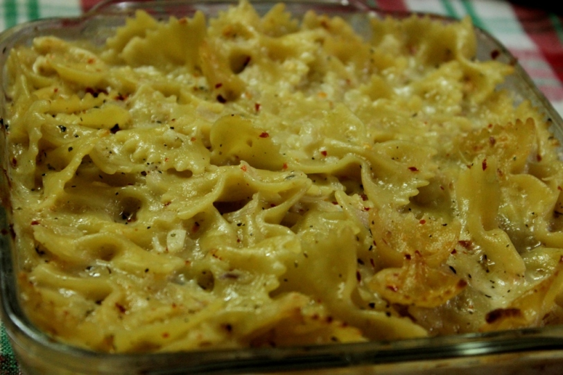 Pasta in white sauce easy recipe
